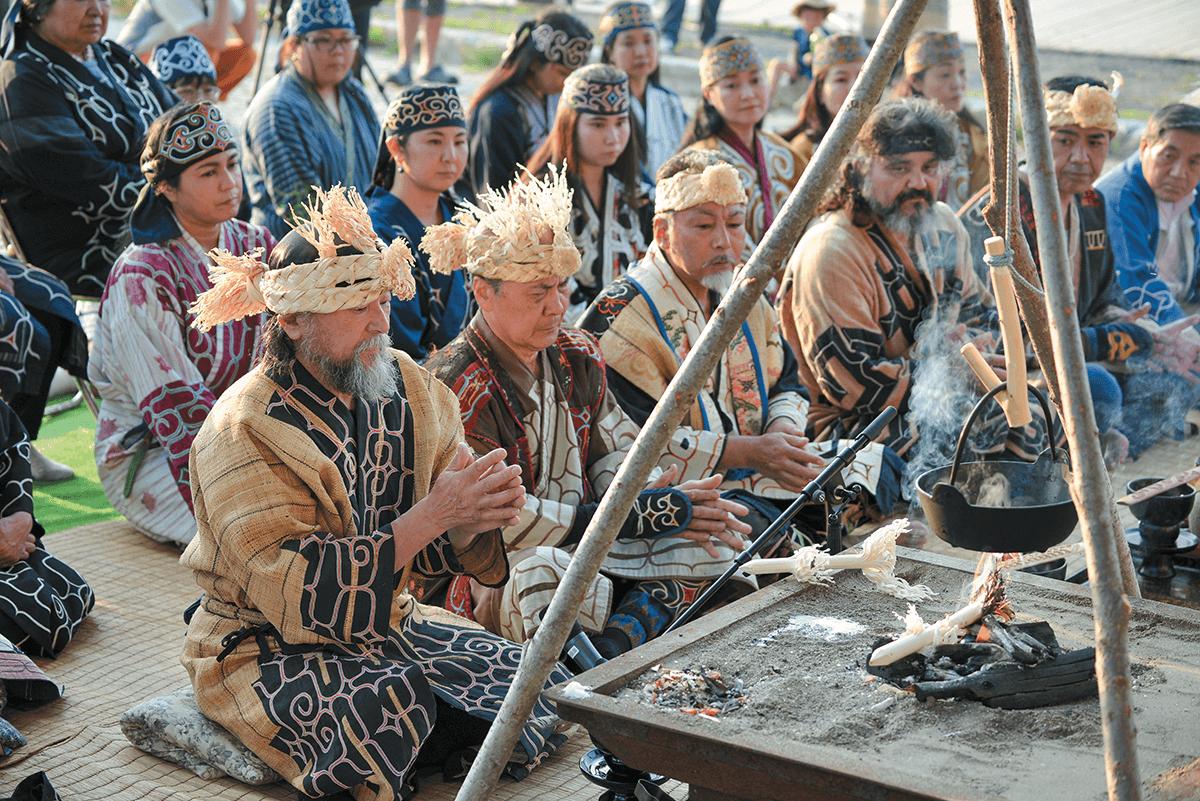 アイヌ伝統儀式カパチェプノミ